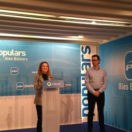 La portaveu del PP balear en el Parlament, Marga Prohens