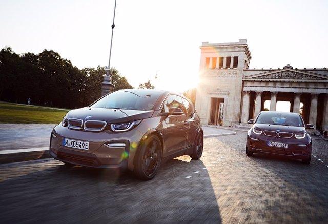 Vehículos eléctricos de BMW