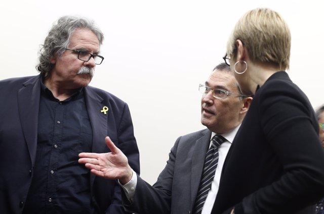 Comparecencia en Comisión de Justicia en el Congreso de Alonso-Cuevillas Sayrol, abogado del expresidente de la Generalitat de Cataluña Carles Puigdemont