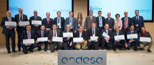 Empleados de Endesa de Baleares, galardonados con los Premios BYEM de mejora