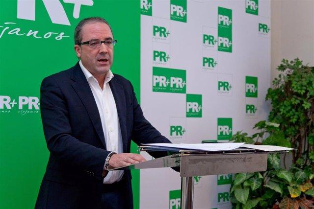 Rubén Gil Trincado, concejal del PR+ en Ocón