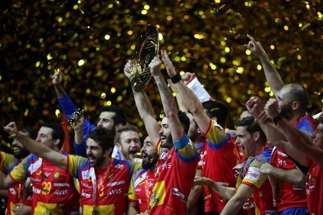 España, campeona de Europa de balonmano