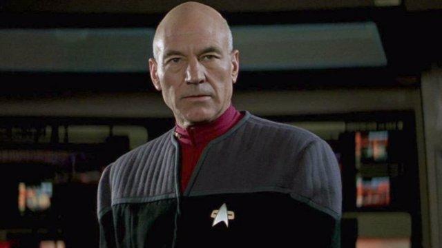 Patrick Stewart en Star Trek