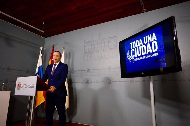 Alcalde de Las Palmas de Gran Canaria, Augusto Hidalgo