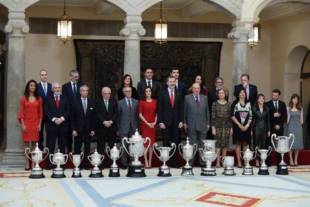 SSMM los Reyes con los Premios Nacionales del Deporte 2017
