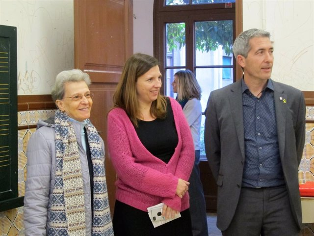 Maria Teresa Brull, Laia Ortiz y Josep Gonzàlez-Cambray