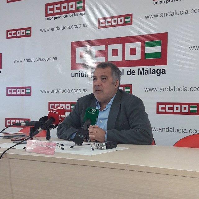 Secretario del sindicato sociosanitario de CCOO, Rafaél González