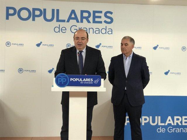 Sebastián Pérez y Santiago Pérez
