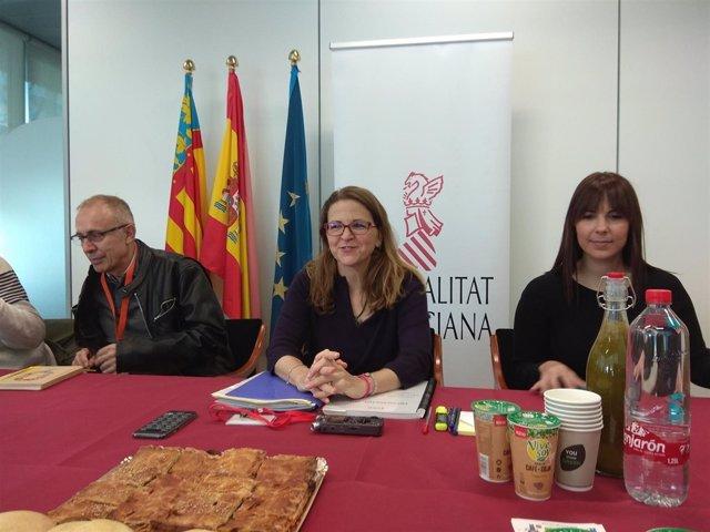 Elena Cebrián en undesayuno informativo
