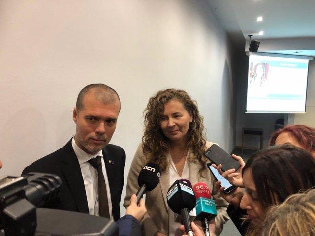 Josep Maria Cruset y María Ornella Chacón