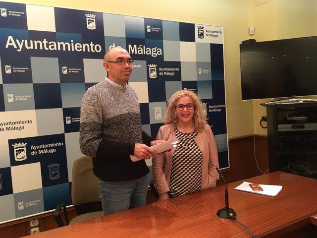 Eduardo Zorrilla y Remedios Ramos de Málaga para la Gente
