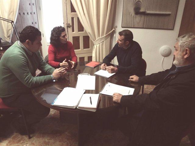 La Diputación Colaborará Con La Ela De Guadalcacín En El Proyecto De Mejora Del