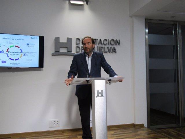 El vicepresidente de la Diputación, José Fernández