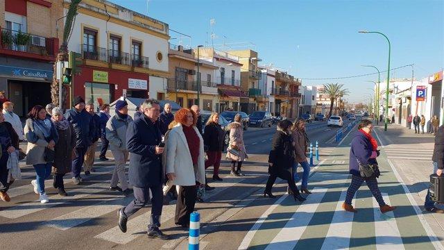 Espadas visita Torreblanca