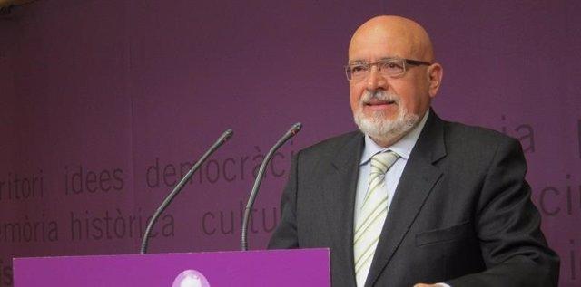 Josep Huguet, exconseller de la Generalitat (Archivo)