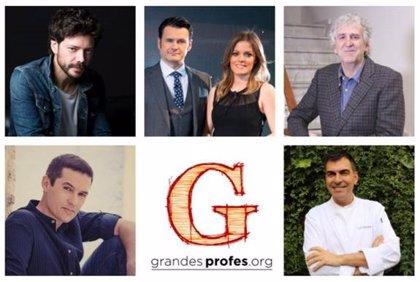 Fundación Atresmedia, Santillana y Samsung celebrarán el 26 de enero en Madrid el encuentro '¡Grandes Profes!' 2019