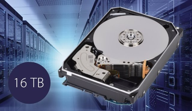 Disco duro de 16 TB de la serie MG08