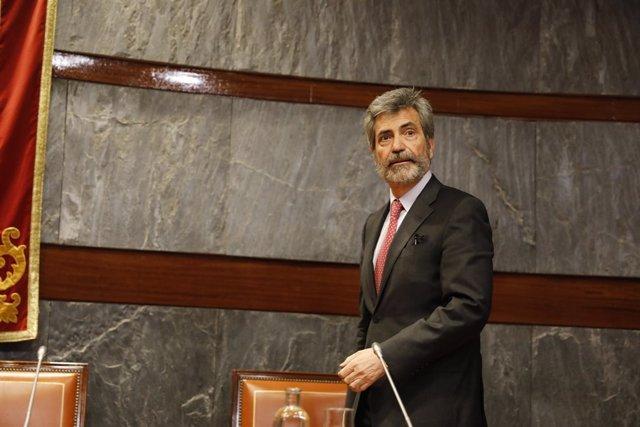 Carlos Lesmes preside la presentación de la Guía de criterios de actuación judic
