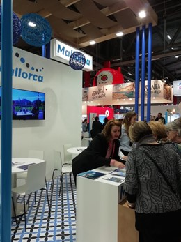 Stand de Mallorca en la Fira Internacional de Turisme 'Firin' de Viena