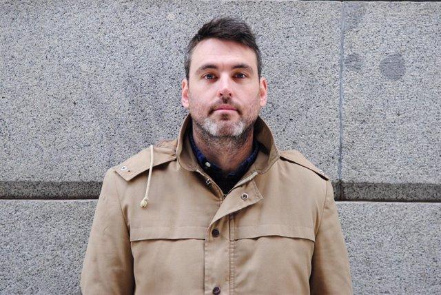 El escritor Daniel Jiménez