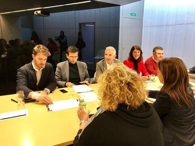 Reunión del consorcio del Centro Lorca