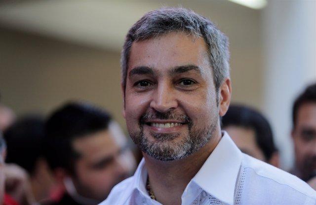 Mario Abdo Benítez, candidato presidencial del Partido Colorado