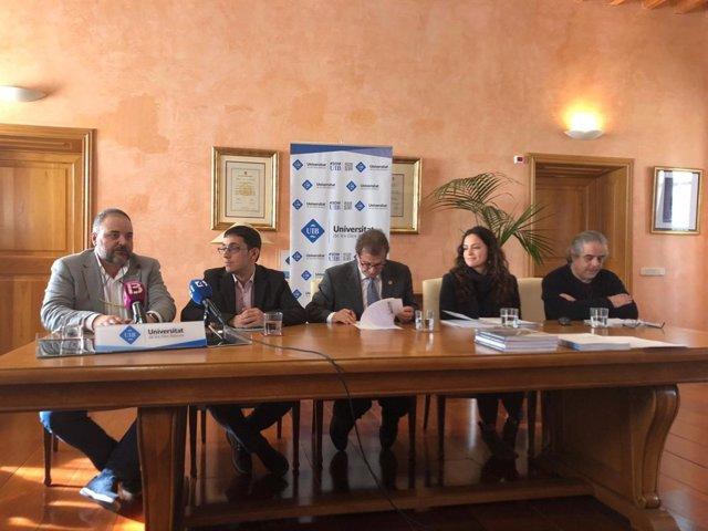 El conseller de Treball, Iago Negueruela, presenta informe GEM