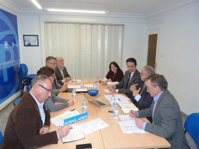 Reunión en Teruel sobre despoblación.