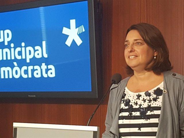 La concejal del Grup Municipal Demòcrata Sònia Recasens