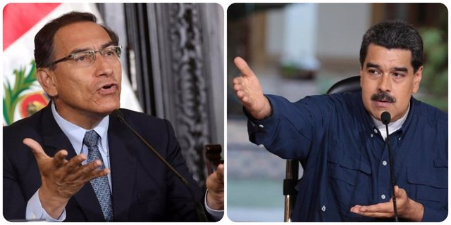 Vizcarra y Maduro