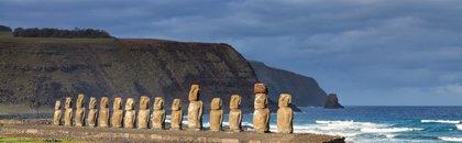 Los isleños de Rapa Nui construyeron monumentos cerca de fuentes