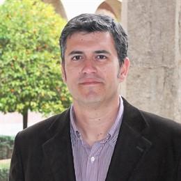 El secretario territorial de CHA-Alto Aragón, Joaquín Palacín.