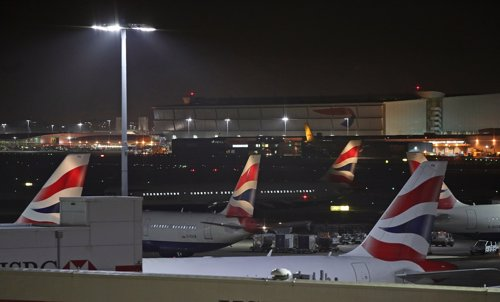 Heathrow Airport drone disruption in London