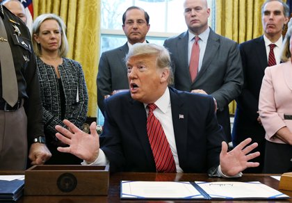 ¿Qué relaciona la parálisis del Gobierno de EEUU y el muro?