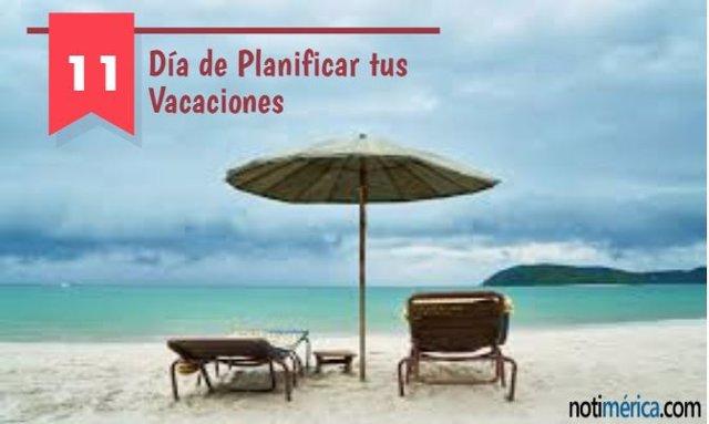 Día de planificar tus vacaciones