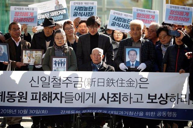 Lee Choon Shik, víctima de trabajos forzados durante la ocupación japonesa