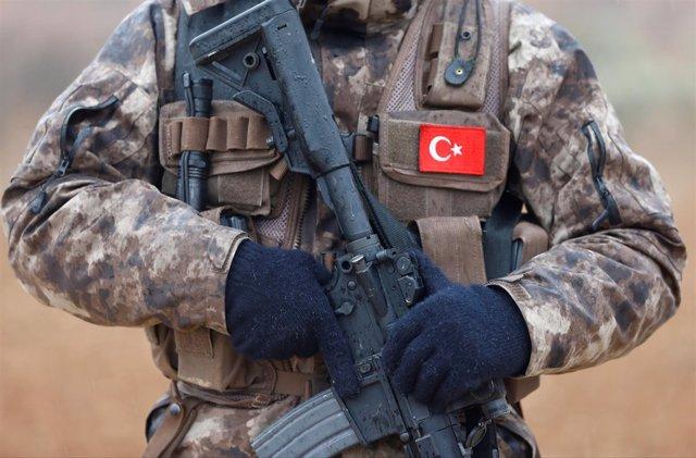 Foto de archivo de las fuerzas especiales de la Policía turca