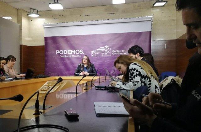 La secretaria de Organización de Podemos C-LM, María Díaz