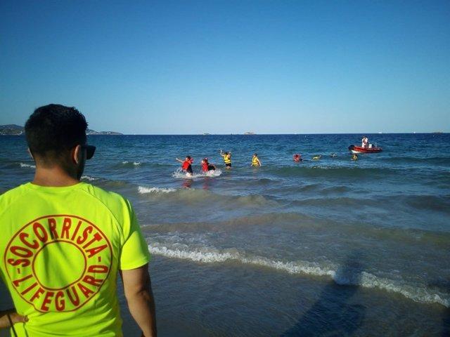 Socorrista en Ibiza
