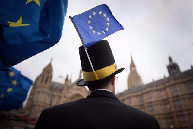 Protestas contra el Brexir en Londres