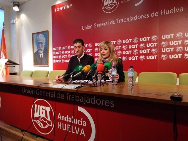 Carmen Castilla, junto a Sebastián Donaire.