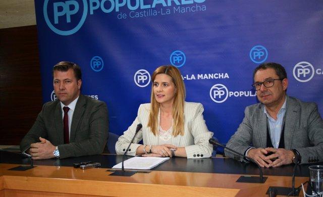 Pp Clm (Cortes De Voz Y Fotografía) Carolina Agudo, En Rueda De Prensa