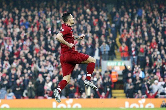 Dejan Lovren con el Liverpool