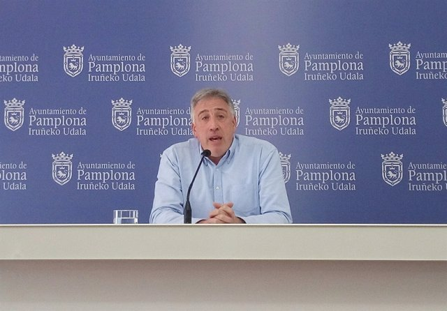 Joseba Asiron, alcalde de Pamplona