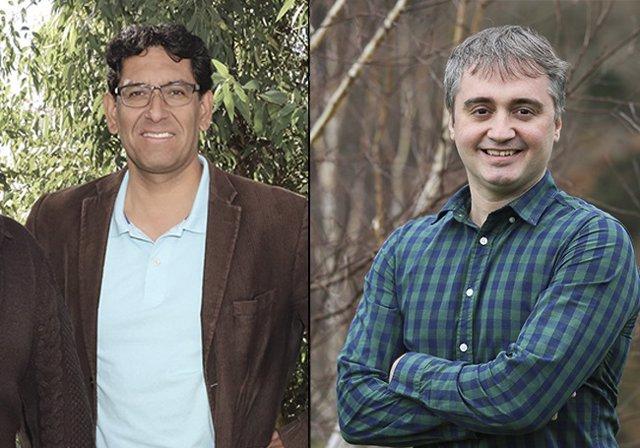 Jorge Casanova y Enrique Solano