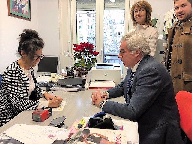 José María Fuentes-Pila registra su candidatura a liderar PRC en Santander