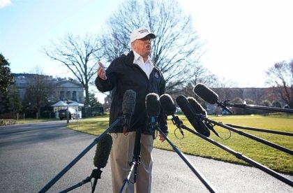 Trump evalúa declarar la emergencia ante la paralización parcial de la Administración