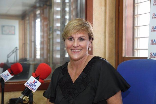 Foto d'arxiu d'Itxaso Atutxa a Radio Popular