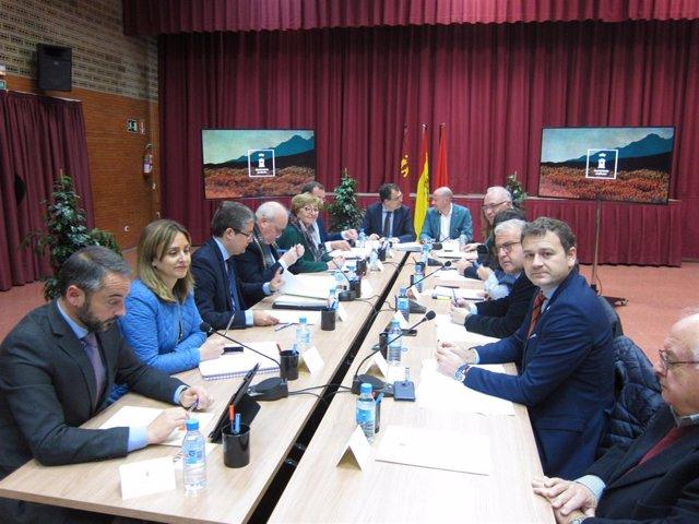 Junta de Gobierno con Ballesta a la cabeza celebrada en Corvera