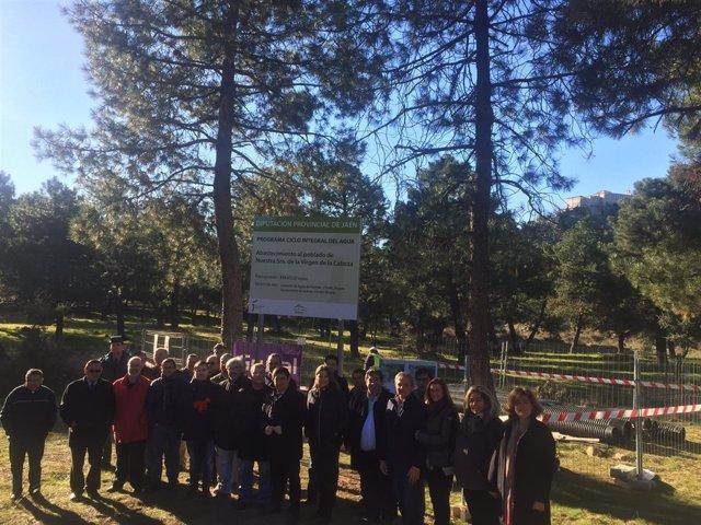 Inicio de las obras para llevar agua potable al Cerro del Cabezo